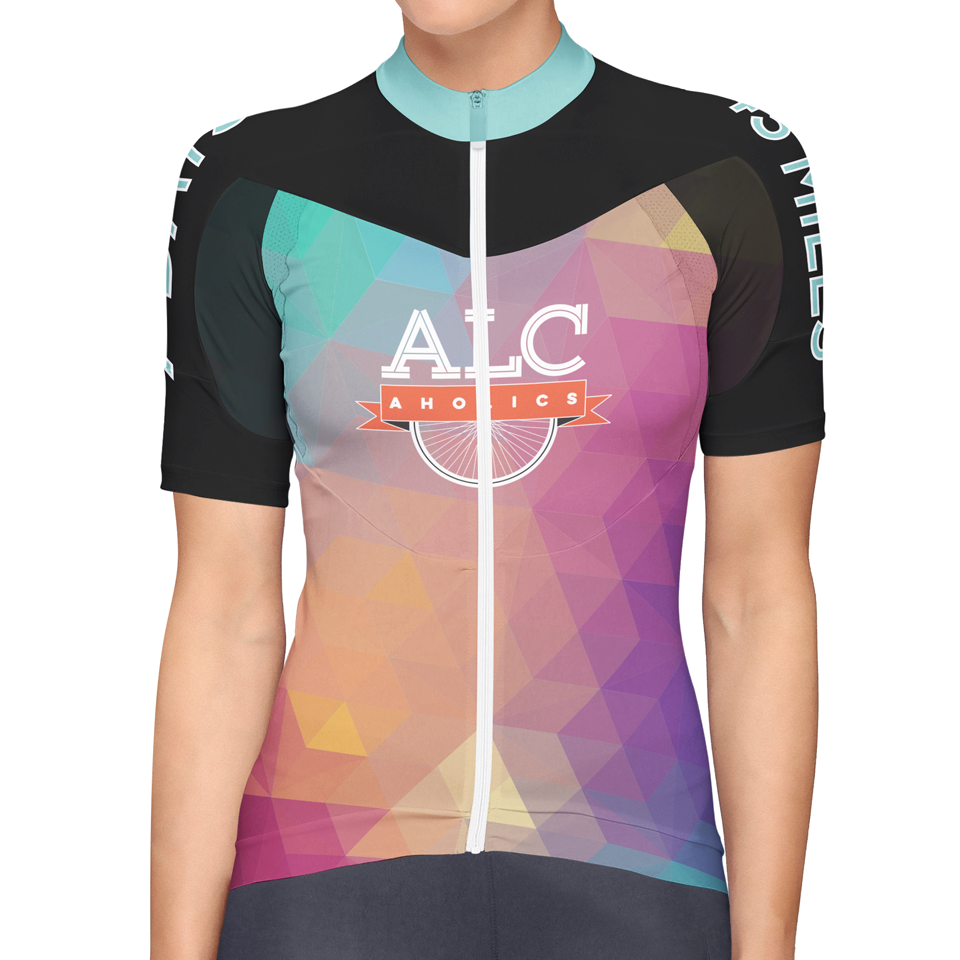 2015 ALCaholics Bicycle Jersey design (FRONT)
