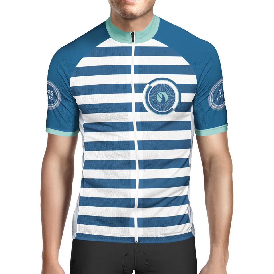 2016 ALCaholics Bicycle Jersey design (FRONT)