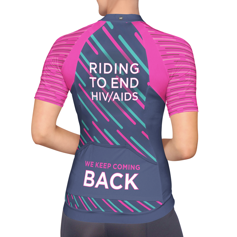 2017 ALCaholics Bicycle Jersey design (BACK)