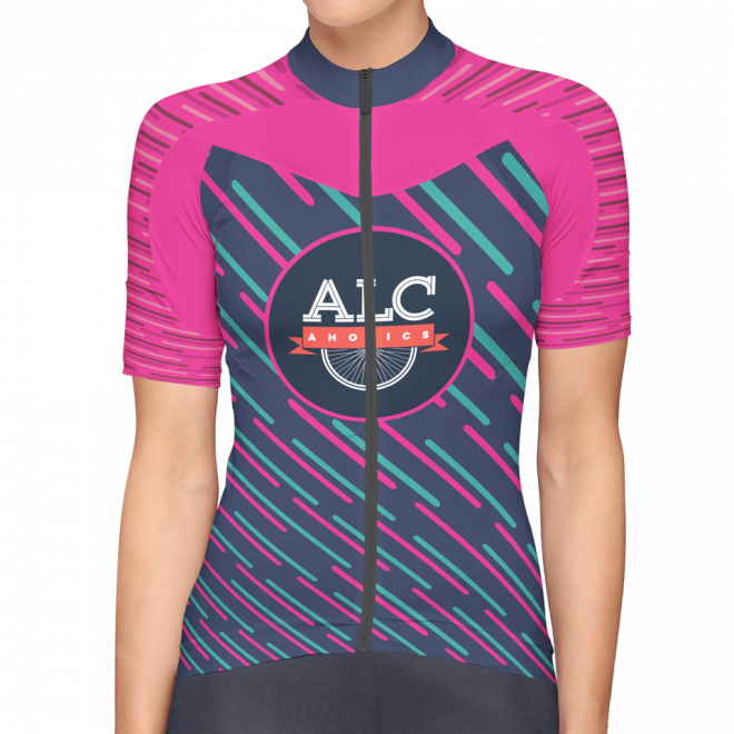 2017 ALCaholics Bicycle Jersey design (FRONT)
