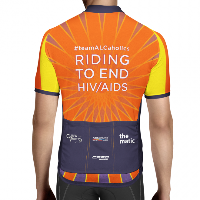 2018 ALCaholics Bicycle Jersey design (BACK)