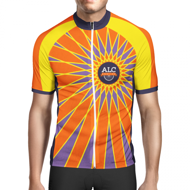 2018 ALCaholics Bicycle Jersey design (FRONT)